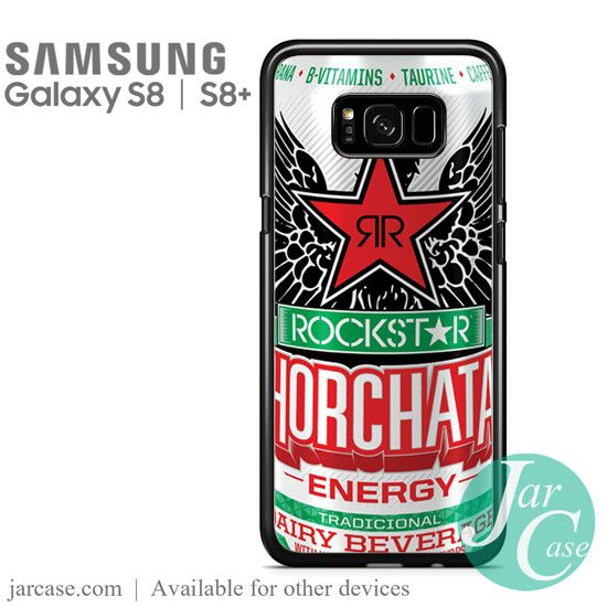 rockstar energy drink horchata Phone Case for Samsung Galaxy S8 & S8 Plus