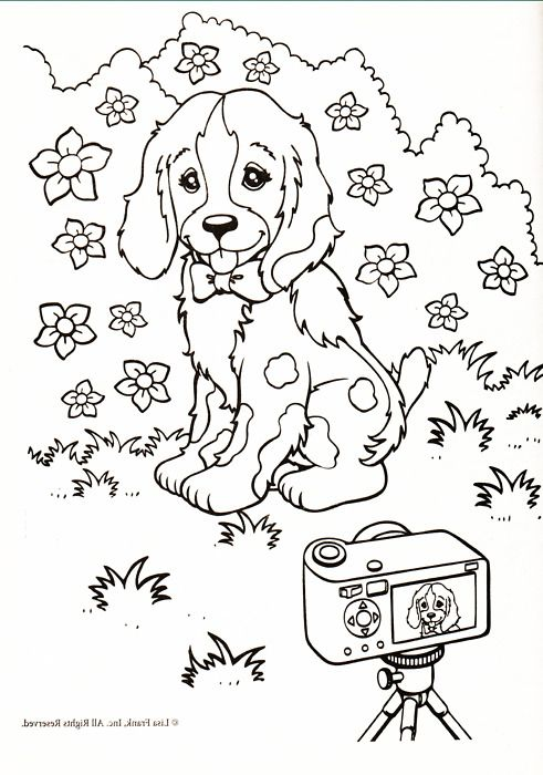 coloring pages of lisa - photo#27