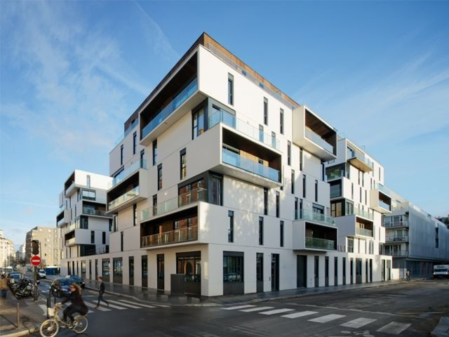 Hot on the heels of a new mixed development in the outlying Marly-le-Roi suburb, Paris practice Ameller, Dubois et Associés has completed a social housing commission closer to home in the fifteenth arrondissement of the city. Named in honour of the philanthropic department-store mogul Aristide Boucicaut (1810-1867), the complex offers 86 units for medium- to low-income residents and a home for autistic workers.The project integrates three main rises onto a common base. Each consists of…