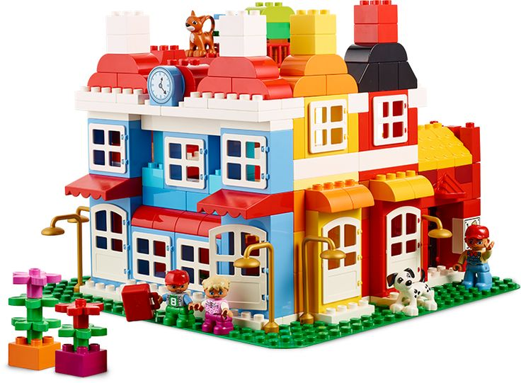 84 best images about duplo lego ideas on pinterest for Modele maison lego duplo