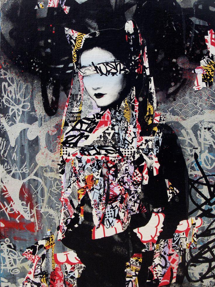 hush street art - Pesquisa Google