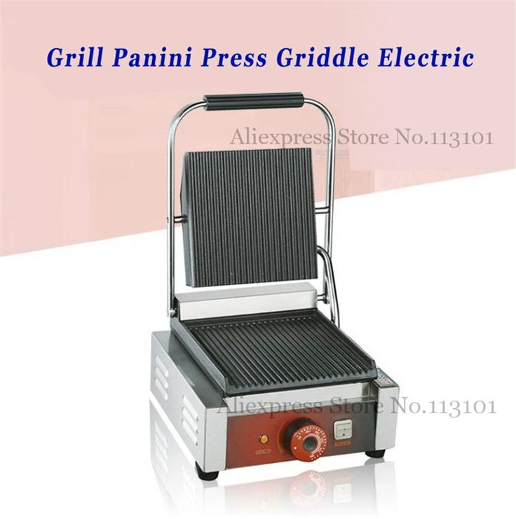 138.70$  Buy now - http://aliqx2.worldwells.pw/go.php?t=32680894229 - Griddle Contact Counter-top Grill Panini Press Griddle Electric Upscale for Commercial Purpose