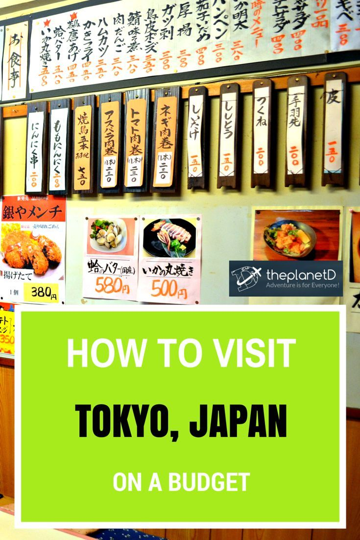 How to Visit Tokyo on a Budget | The Planet D Adventure Travel Blog | If visiting Tokyo has been on your bucket list, but you're worried about the impact on your wallet, fear not as I'm about to show you how to do travel Tokyo on a budget! It's perfectly doable and surprisingly easy.
