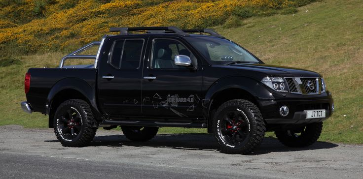 lifted nissan navara d40 home made side exit twin exhaust custom aluminium cover on back twin. Black Bedroom Furniture Sets. Home Design Ideas