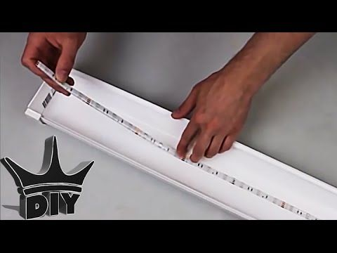 CHEAP and EASY LED aquarium light HOW TO TUTORIAL - YouTube