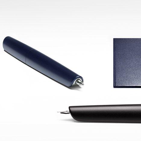 Australian designer Marc Newson has designed a fountain pen with a retractable nib for French fashion house Hermès.