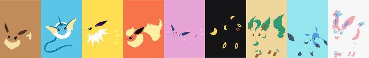 Eevee evolutions by S--Art.deviantart.com on @DeviantArt