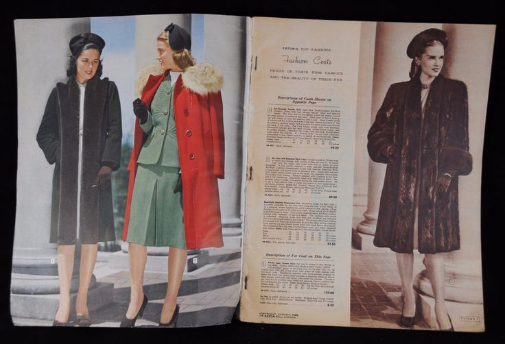 Large Eaton's Canada Wartime Fall and Winter 1944 to 1945 Catalog 11