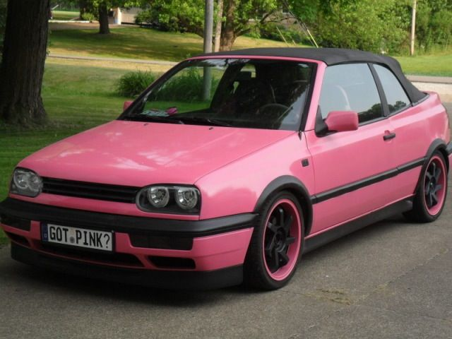 my 95 vw cabrio rebecca bishop pink rides pinterest. Black Bedroom Furniture Sets. Home Design Ideas