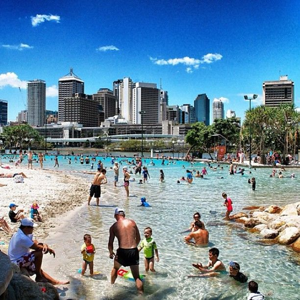 Brisbane - The stomping ground of the Queensland Firebirds.