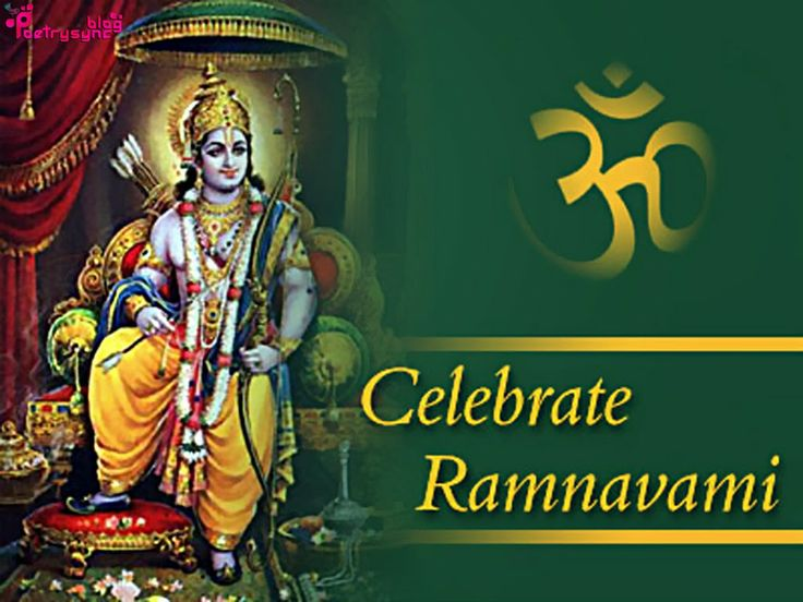 Happy Ram Navami Wishes Celebration
