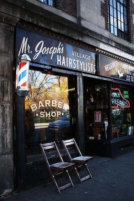 Greenwich Village. Barber Shop | New York