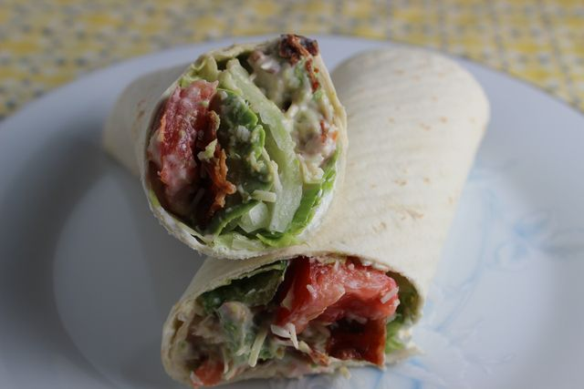 Easy and Yummy BLT Wrap Sandwiches are Perfect for Any Lunch Box