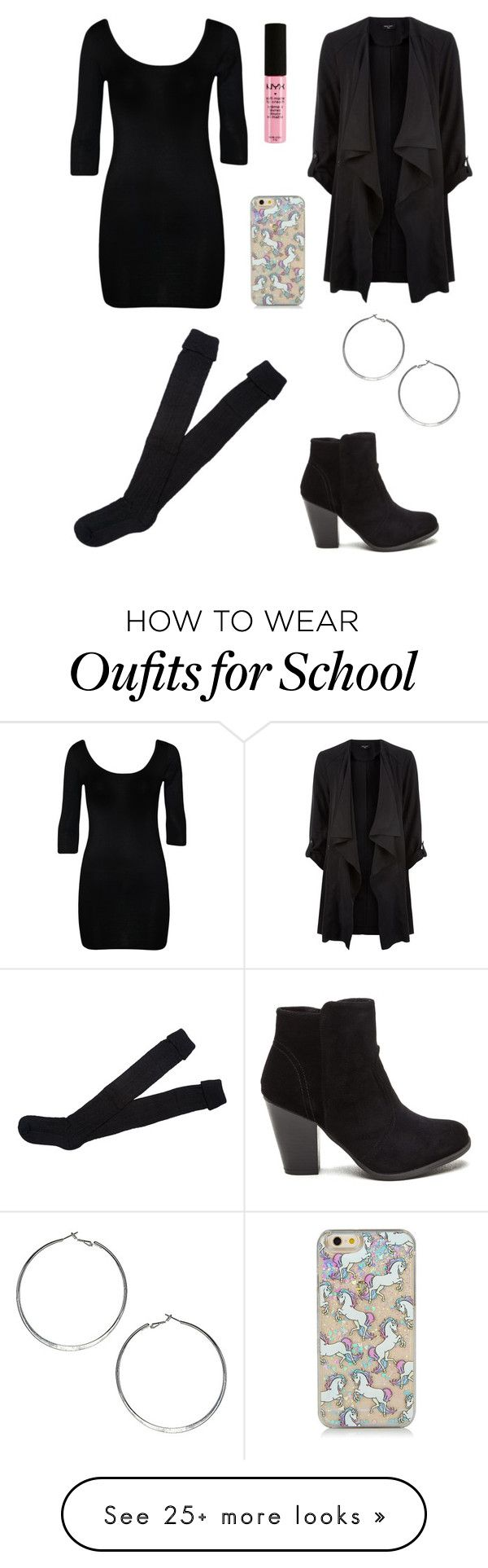 """""""Cosmetology school"""" by fashionista-diva-983 on Polyvore featuring WearAll and Wallis"""