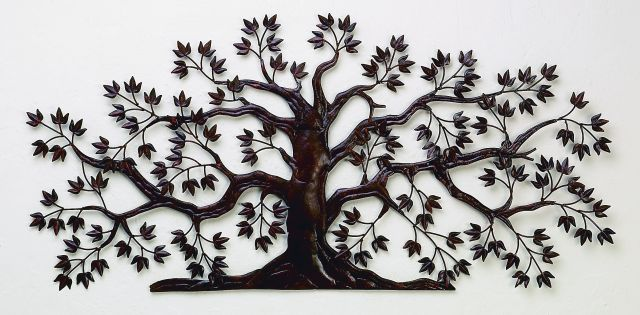 Metal Wall Art, Wrought Iron Wall Decor, Monogrammed Iron Wall Grilles, Metal  Tree Wall Art, Living Tree Wall Decor   Page 1