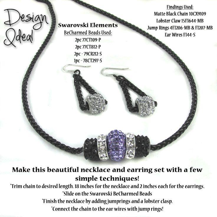 Swarovski BeCharmed Design Ideas | Loose Ends