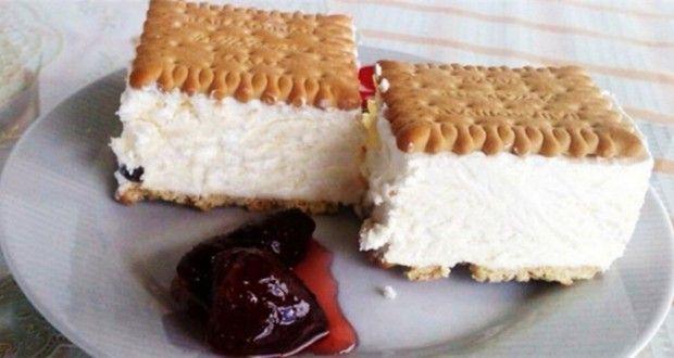 Πανεύκολο παγωτό σάντουιτς με Πτι Μπερ, έτοιμο σε μόλις 15 λεπτά | Sugklonistiko