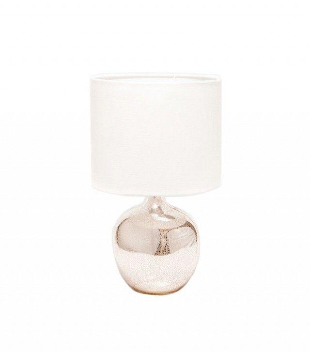 Zara Home Metallic Glass Lamp
