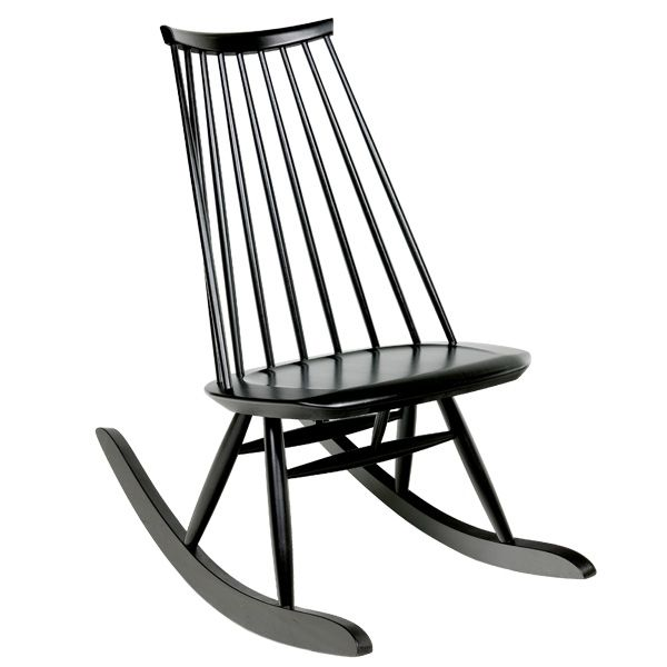 Mademoiselle rocking chair by Ilmari Tapiovaara.