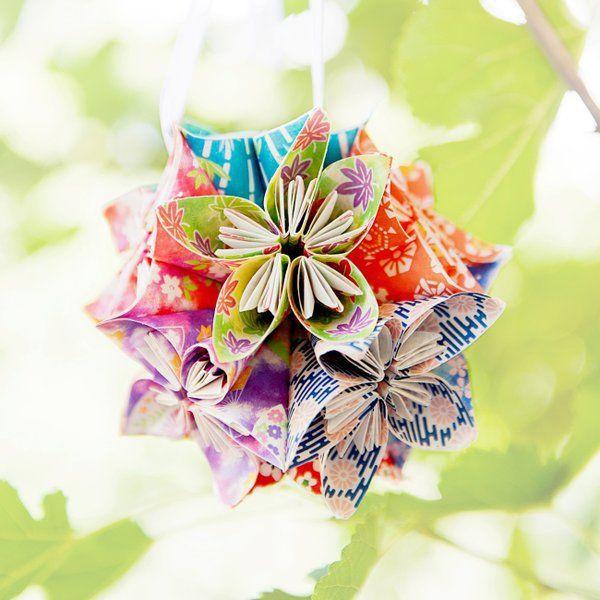 Decorațiuni handmade de vară realizate din hârtie