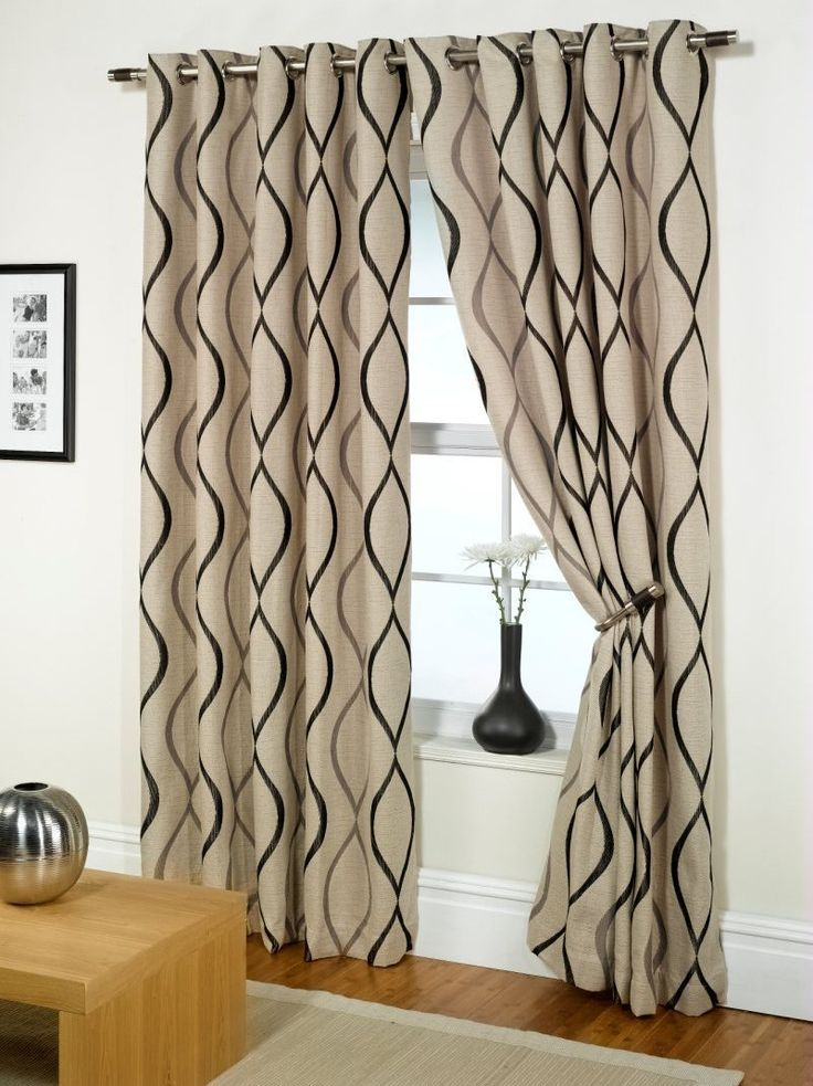 Tab Curtains Make Your Living Room Look Great
