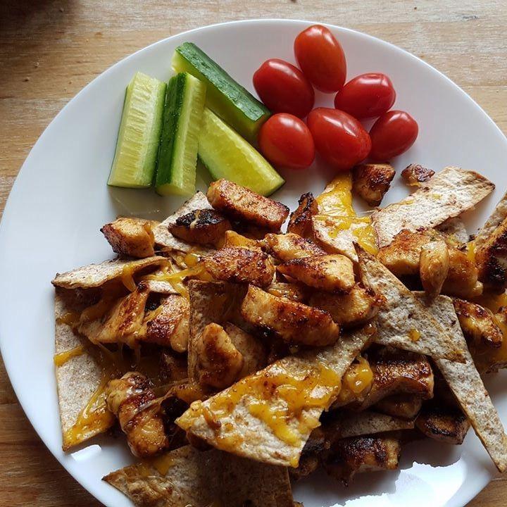 Nachos med kylling – It Makes Sense