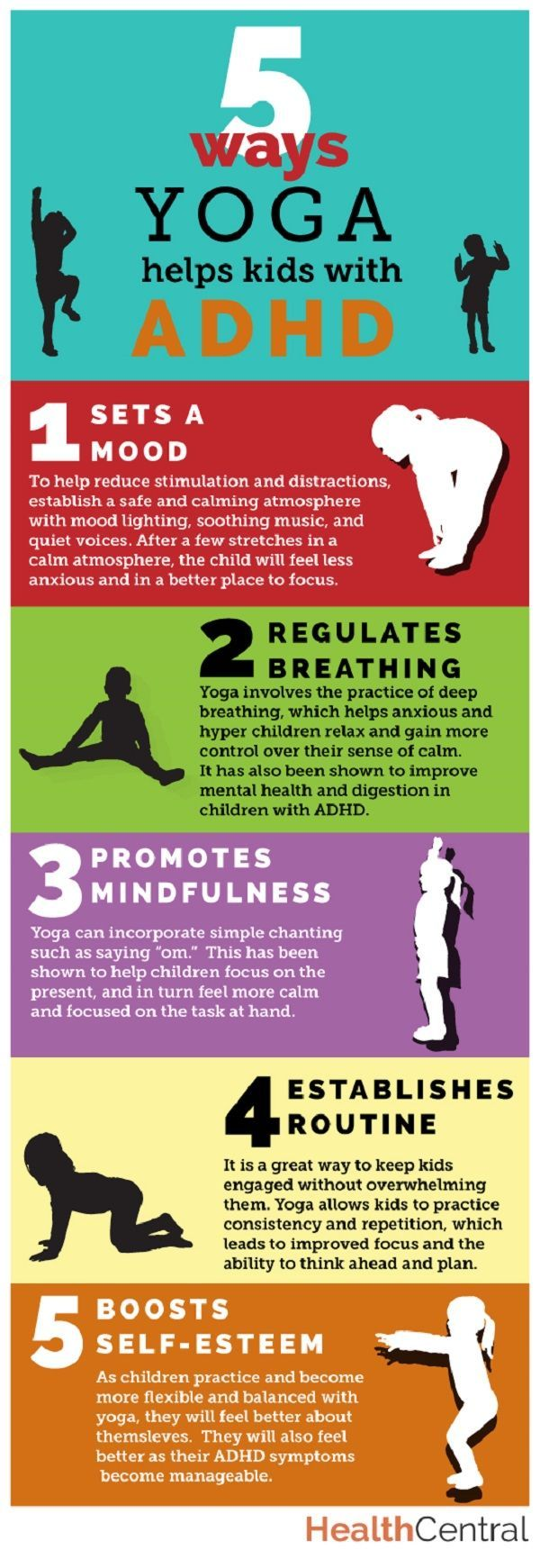 5 ways #yoga is good for kids with #ADHD http://www.healthcentral.com/adhd/c/458275/179212/5-ways-yoga-helps-infographic/?ap=2012