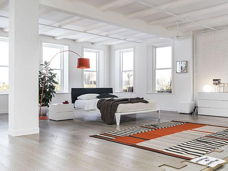 Beautiful Camera Da Letto Laccata Bianca Contemporary - Home Design ...