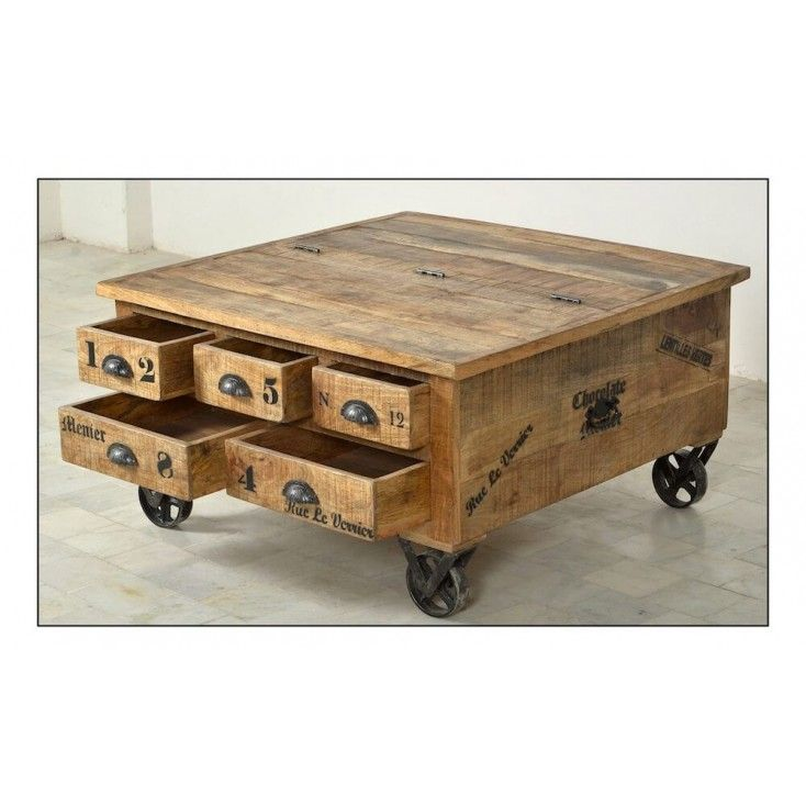 Trunk Coffee Table Menier Chocolate Factory In 2019