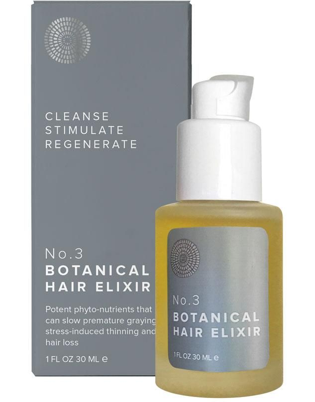 No 3 Botanical Hair Elixir Energizer Hair Elixir Botanical