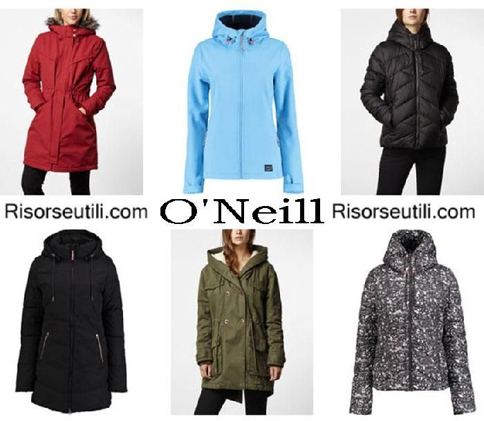 Jackets O'Neill fall winter 2016 2017 womenswear