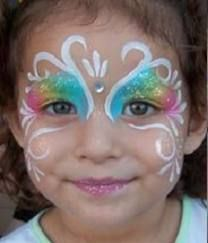 63 best images about facepainting on pinterest halloween - Imagenes de maquillaje de diablo para ninos ...