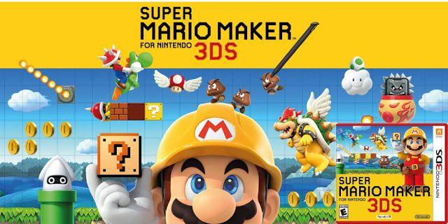 Descargar Super Mario Maker Rom Nintendo 3ds Nintendo 3ds Juegos Mario Bros Juegos De Mario