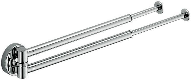 Designer Handtuchhalter Plus Ausziehbar 2 Armig Schwenkbar