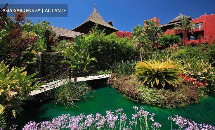 ASIA GARDENS | ALICANTE - Ein Stück Asien an Spaniens Südostküste: asiatische Küche und Wellness umgeben von tropischer Vegetation