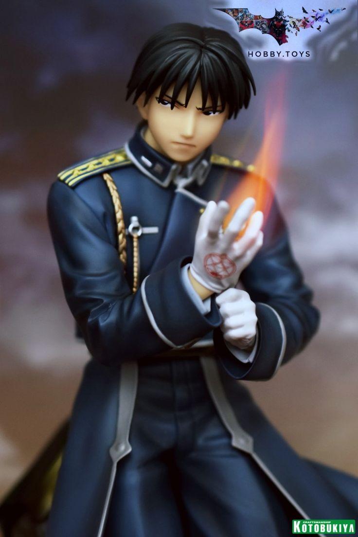 Kotobukiya Hagane no Renkinjutsushi Brotherhood - Roy Mustang - ARTFX J