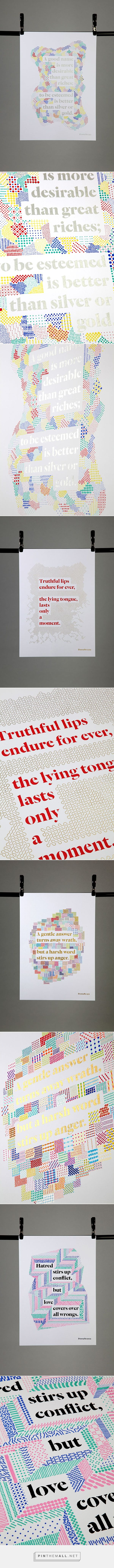 Illuminated Proverbs on Behance