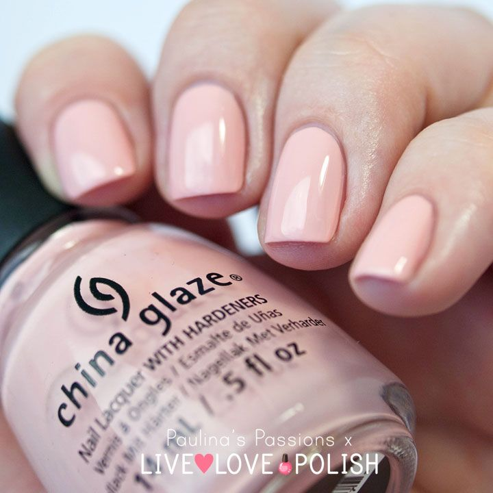 The Most Classy Nude Nail Polish. China Glaze Pink Of Me