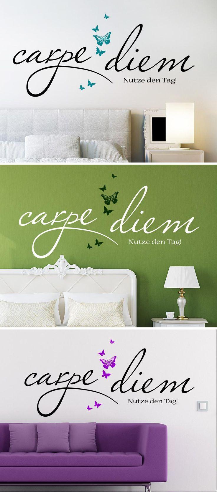 55 besten wandtattoo spr che weisheiten bilder auf. Black Bedroom Furniture Sets. Home Design Ideas