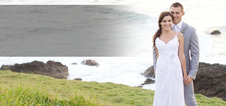 We were lucky enough to supply the 4 images for the Home Page slide show for Port Macquarie Weddings website - a great online resource for all couple getting married.