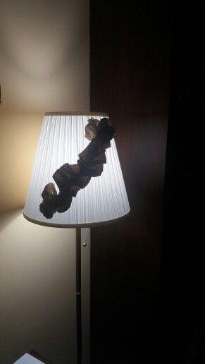 Paralume lampada da terra