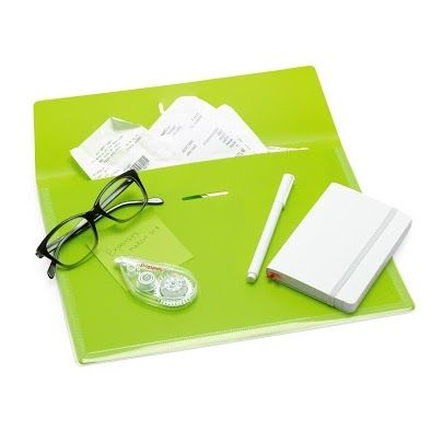 Get Your Paperwork Together In The Lime Green Tab Folio!