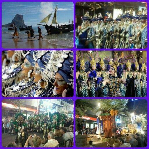 Desfile Moros y Cristianos #Calpe 2014