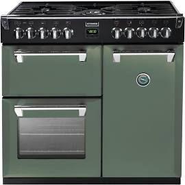 Stoves Richmond 900DFT Soho Green 90cm Dual Fuel Range Cooker SAC-1697