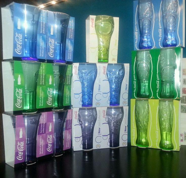 Bicchieri coca cola mcdonald s marca Luminarc