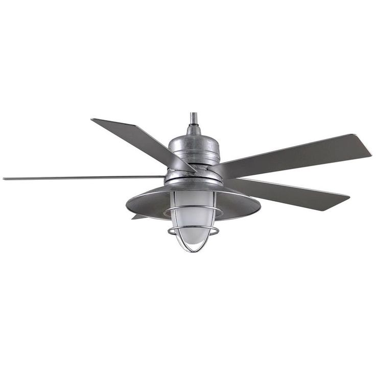 267 best lighting fans images on pinterest home decorators collection grayton 54 in indooroutdoor galvanized ceiling fan with light kit and remote control aloadofball Gallery