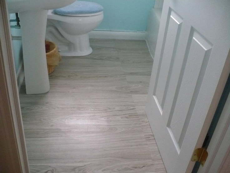 how to install allure flooring in bathroom the quot dock quot in our bath flooring from home depot 26112
