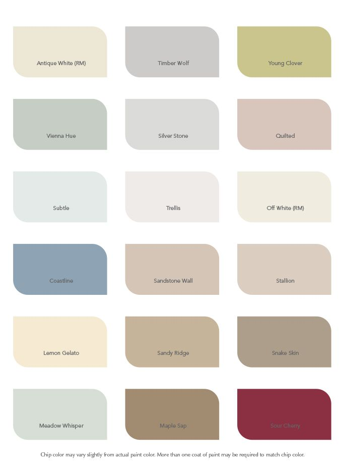 True Value Paint Colors