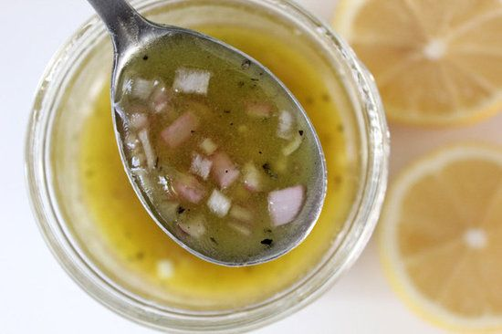A Honey Mustard Apple Cider Vinaigrette For Your Health.    Apple cider vinegar is known to be a digestive-, immunity-, and natural-energy-boosting food, and it also may have appetite-suppressing powers. And at just over 80 calories per serving, this salad dressing imparts big flavor into your favorite salads without the need for high-calorie ingredients.