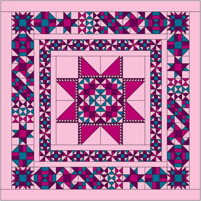 711 best Free Quilt BOM images on Pinterest   Christmas quilting ... : free quilt block of the month - Adamdwight.com